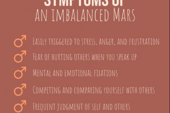 How to heal anger, judgement and aggression, using the power of Mars.